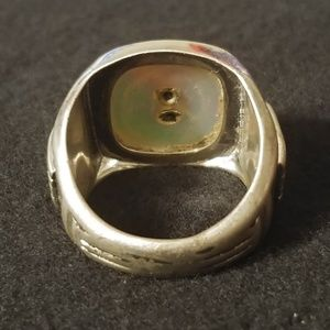Vintage Jewelry - Vintage WWII US Army DB Sterling Ring Size 10